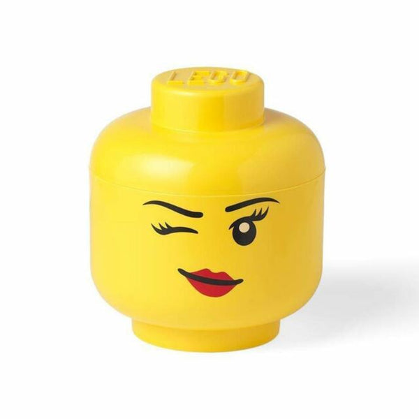 Lego Storage Head Large Winking