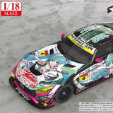Hatsune Miku GT Project Good Smile Racing 1/18th Scale AMG: 2019 Ver.
