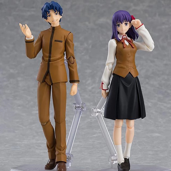 Figma No.445 Fate/stay night: Heaven's Feel Shinji Matou & Sakura Matou