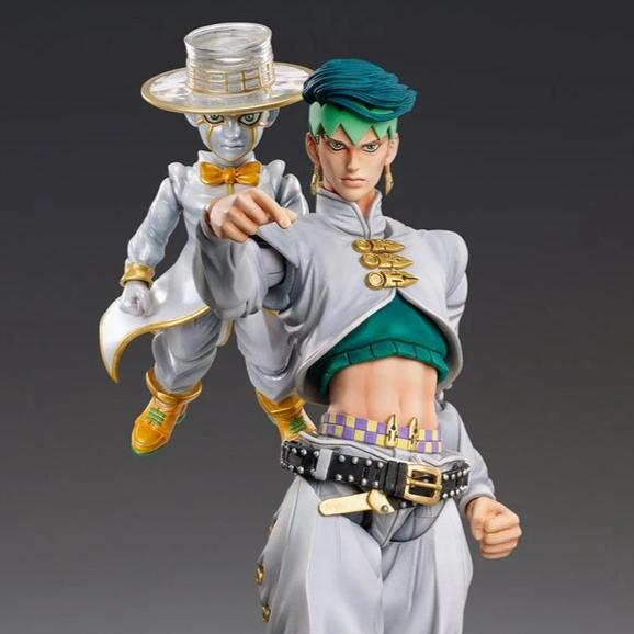Medicos Jojo's Bizarre Adventure Super Action Statue Part4 Rohan Kishibe & HEAVEN'S DOOR