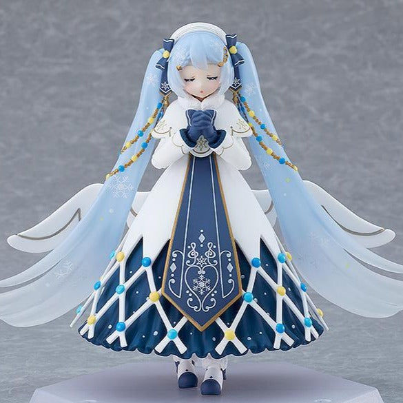 EX-060 Character Vocal Series 01: Hatsune Miku Max Factory figma Snow Miku: Glowing Snow ver.