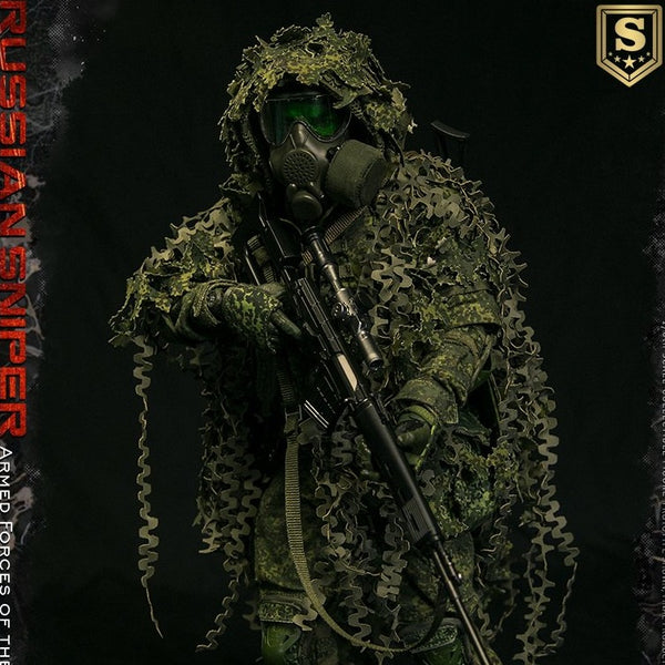 DAM Toys Armed Forces of the Russian Federation Sniper Special Edition 1/6