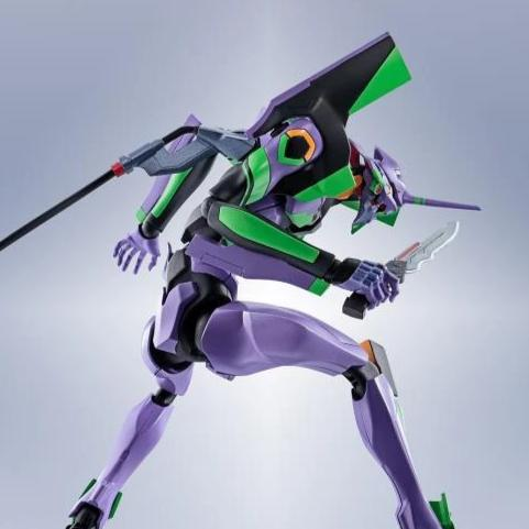 Robot Spirits Rebuild of Evangelion EVA Unit-01 Test Type