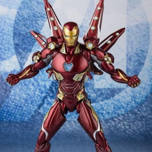 Bandai Tamashii Nations S.H.Figuarts Avengers: Endgame Iron Man MK-50 With Nano Weapon Set 2