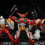 FREEing Dynamic Change: New Getter Robo