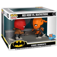 DC Comic Red Hood vs. Deathstroke Comic Moment Pop! Vinyl 2-Pack SDCC 2020 Limited Edition PX Exclusive