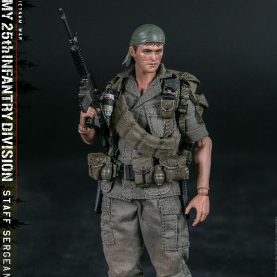 DAMToys PES006 1/12 ARMY 25th Infantry Division Private STAFF SERGEANT