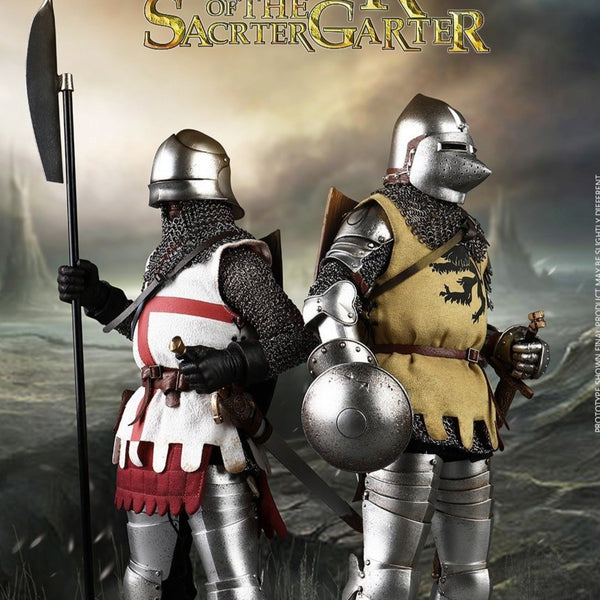 COOMODEL [CM-SE069] DOUBLE-FIGURE SET OF ENGLISH KNIGHTS