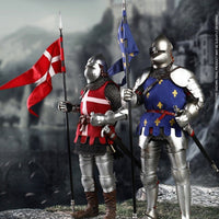 COOMODEL [CM-SE070] DOUBLE-FIGURE SET OF FRENCH KNIGHTS