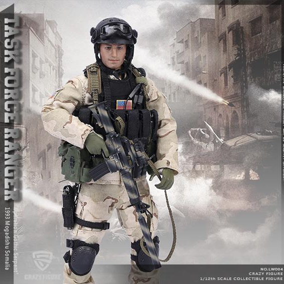 CRAZY FIGURE LW004 US Delta Special Force - Precision Sagittarius 1/12 Scale Figure