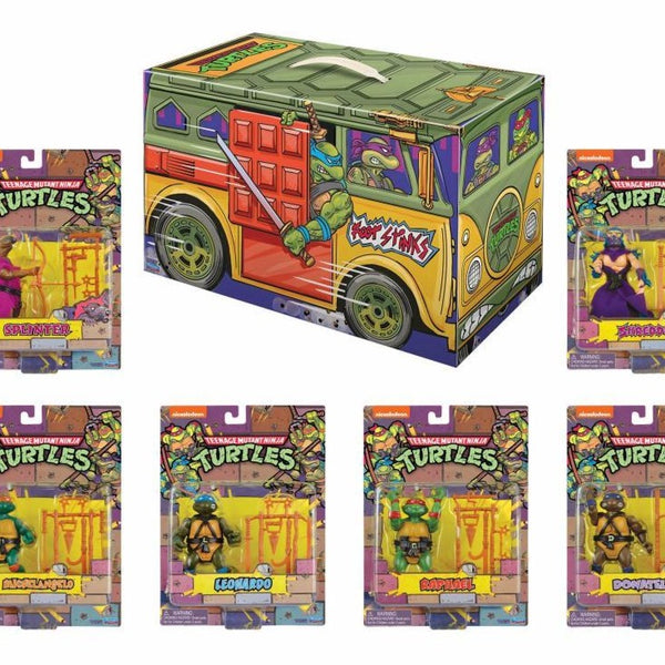 PLAYMATES TMNT Retro Rotocast SDCC 2020 Limited Edition PX Exclusive Set of 6 Figures