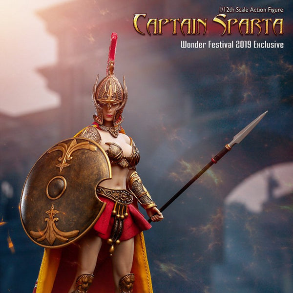 TBLeague Captain Sparta Wonder Festival 2019 Exclusive 1/12 Scale Action Figure