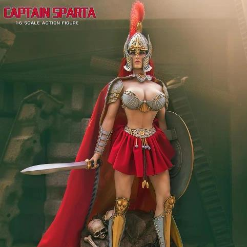 TBLeague Phicen Captain Sparta 1/6 Scale Action Figure