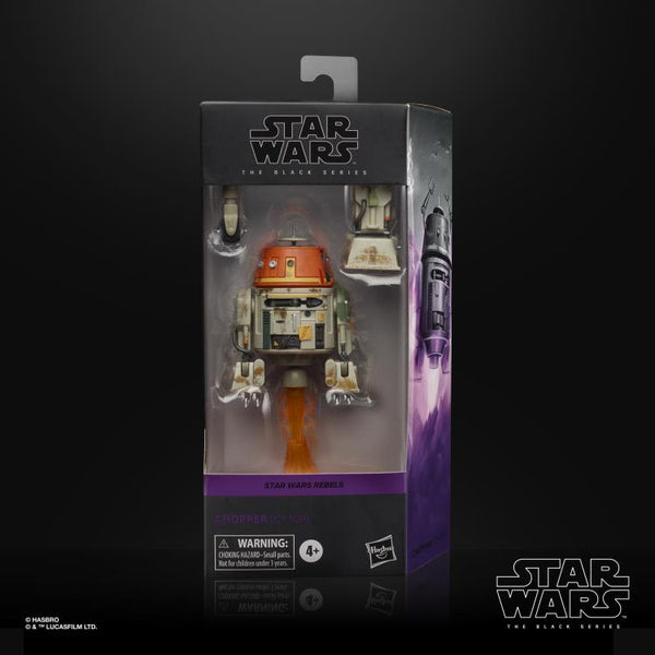Star Wars The Black Series Chopper (Rebels) 6-Inch Action Figure