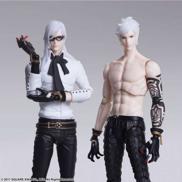 Square-Enix Bring Arts NIER AUTOMATA ADAM & EVE SET
