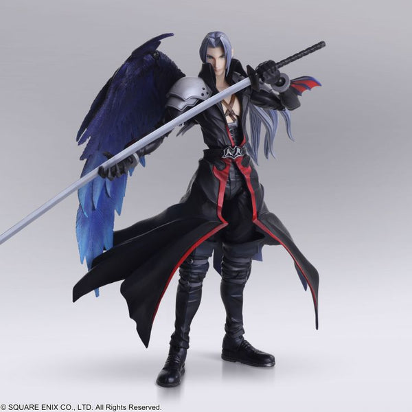 Square-Enix Bring Arts Final Fantasy Sephiroth Another Form Variant