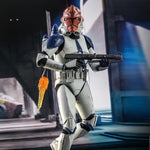 Hot Toys Star Wars: The Clone Wars TMS023 501st Battalion Clone Trooper (Deluxe) 1/6th Scale Figure