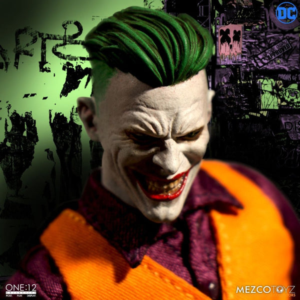 Mezco One:12 DC Comics The Joker Clown Prince of Crime
