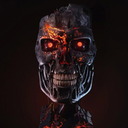 PureArts Terminator 2 T-800 Battle Damaged Limited Edition 1/1 Art Mask