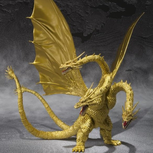 S.H.MonsterArts King Ghidorah (Special Color Version)