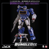 Threezero 3A Transformers Bumblebee DLX Scale Collectible Series Soundwave and Ravage