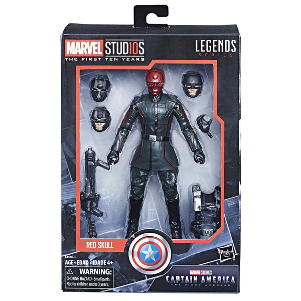 Hasbro Marvel Studios: The First Ten Years Captain America: The First Avenger Red Skull