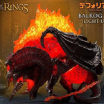 STAR ACE TOYS LOTR BALROG 2.0 DEFO REAL SOFT VINYL STATUE LIGHT UP VER