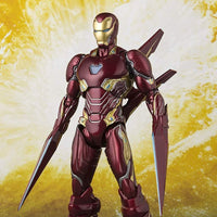 Bandai Tamashii Nations S.H.Figuarts Avengers 3 Infinity War Movie Iron Man MK-50 Nano-Weapon Set