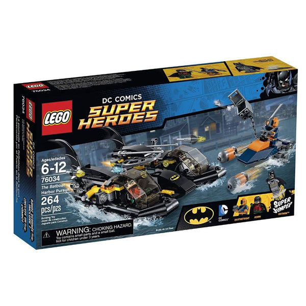 LEGO Super Heroes The Batboat Harbor Pursuit 76034