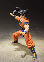 Bandai Tamashii Nations S.H.Figuarts Dragon Ball Z Son Goku (A Saiyan Raised On Earth)