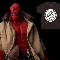 1000Toys Hellboy 1/12 Scale With PX Previews Exclusive BPRD Shirt