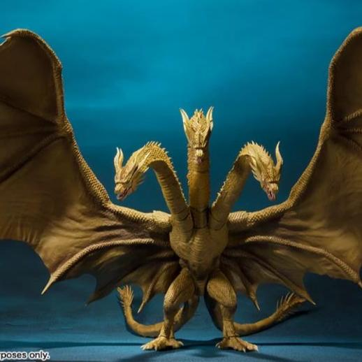 S.H.MonsterArts Godzilla: King of the Monsters King Ghidorah 2019