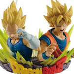 BANPRESTO DRAGON BALL Z COM FIGURATION VOL.2 GOGETA GOKU & VEGETA
