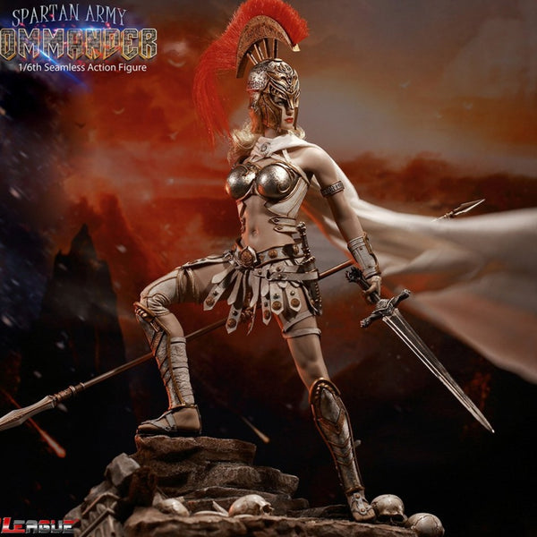 TBLeague [PL-2020-165B] Silver Spartan Army Commander 1/6