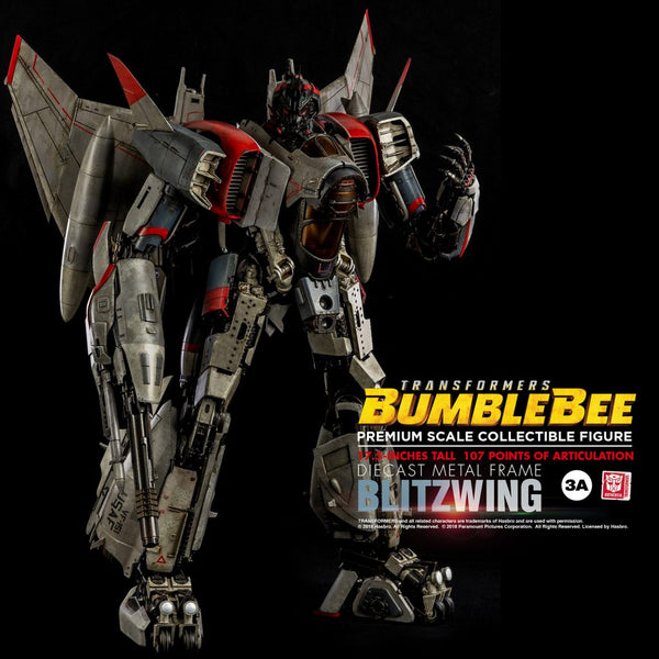 THREEA 3A Bumblebee Blitzwing Premium Scale Collectible Figure