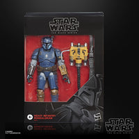 Star Wars The Black Series Deluxe Heavy Infantry Mandalorian (The Mandalorian) 6-Inch Action Figure