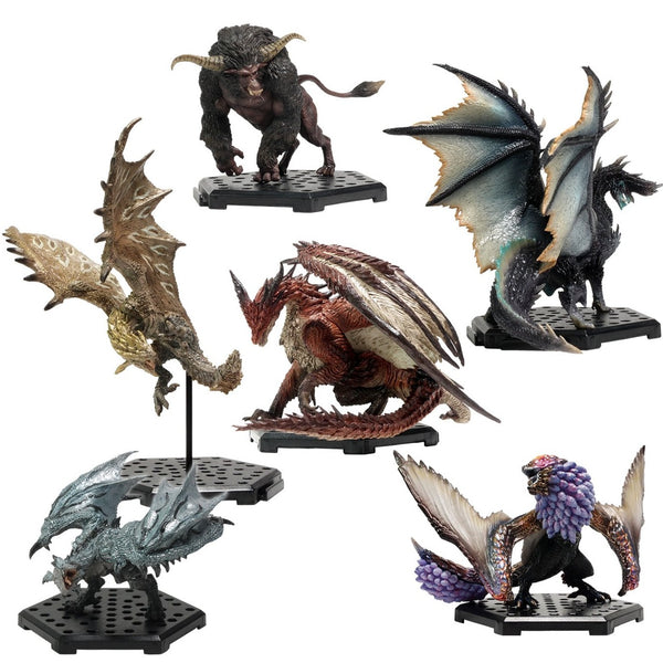 MONSTER HUNTER CAPCOM Figure Builder Standard Model Plus Vol.18(re-run) (Set of 6 Characters)