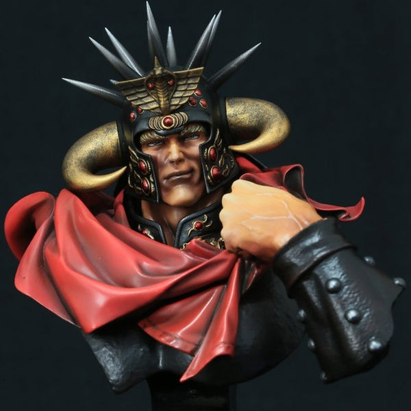 Kaiyodo Fist of the North Star Raoh Modelmaster Bust series
