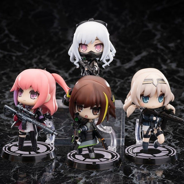 Girls' Frontline HOBBYMAX Disobedience Team Set of All Four Characters (ST AR-15/M4A1/AK-12/AN-94)