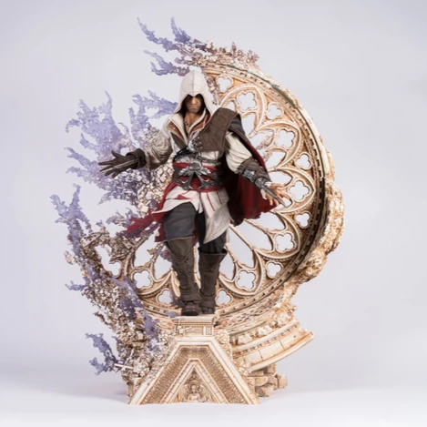 PureArts ASSASSIN'S CREED: ANIMUS EZIO 1/4 STATUE