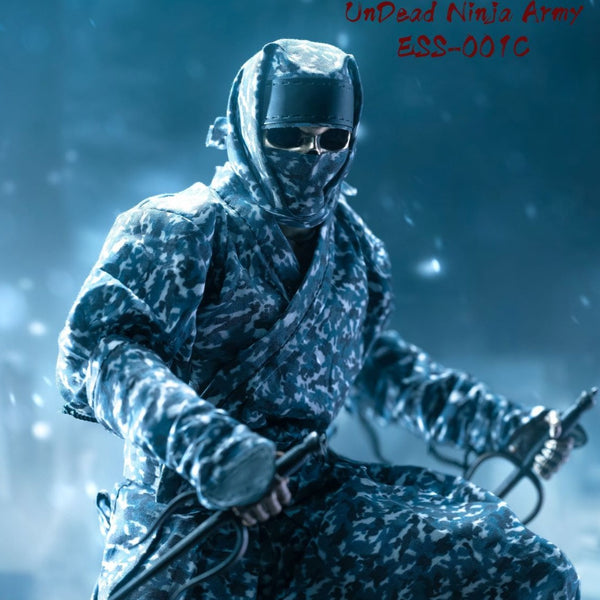 Undead Ninja Army Camo Version 1/6