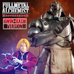 Threezero 3A Fullmetal Alchemist: Brotherhood Edward & Alphonse Elric 1/6 Scale Figure Twin-Pack