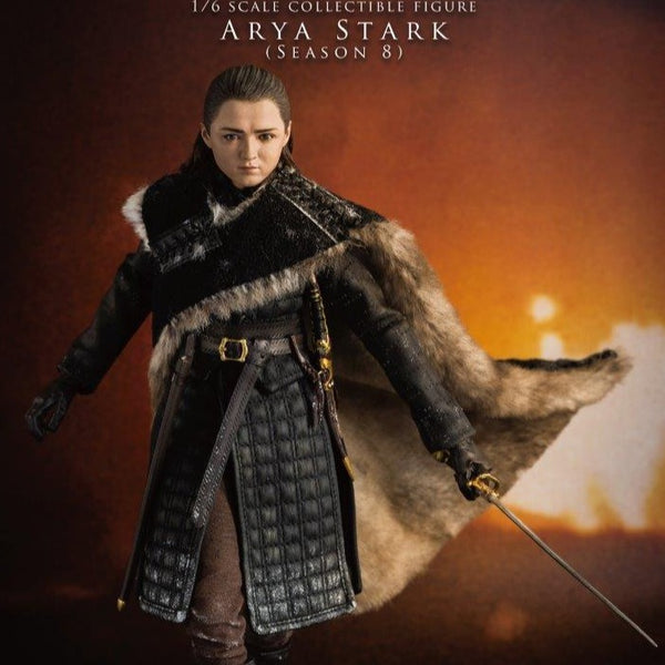 THREEZERO GAME OF THRONES ARYA STARK SEASON 8 1/6 SCALE FIG