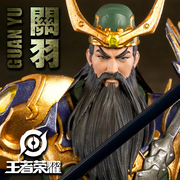 Threezero Honor of Kings GUAN YU 1/12 Collectible Action Figures