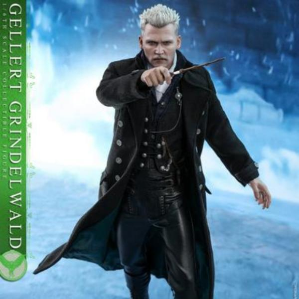 Hot Toys MMS513 Fantastic Beasts The Crimes of Grindelwald Gellert Grindelwald 1/6 Scale Action Figure