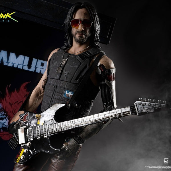 Cyberpunk 2077 Johnny Silverhand 1/4 Scale Statue Exclusive version