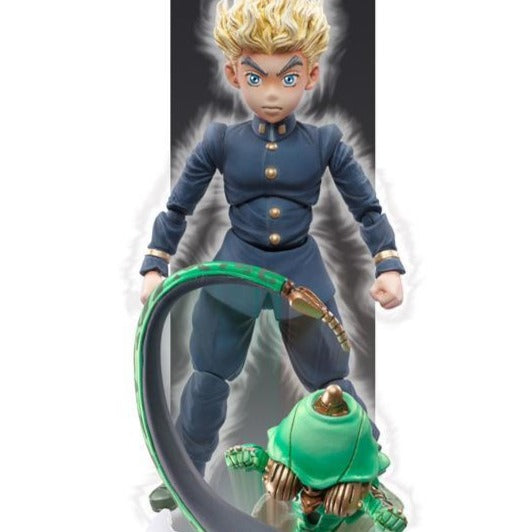 Jojo's Bizarre Adventure Super Action Statue Part4 Diamond is unbreakable Koichi Hirose&Ec(Act 1)