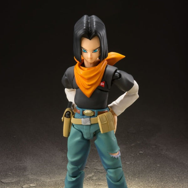 S.H.Figuarts ANDROID 17 -Event Exclusive Color Edition
