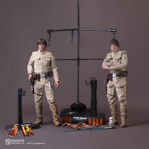 Hot Toys DX07 Star Wars Episode V Luke Skywalker Bespin Outfit 1/6 Scale Action Figure