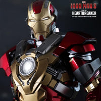 Hot Toys MMS212 Iron Man Mark 17 Heartbreaker 1/6 Scale Action Figure